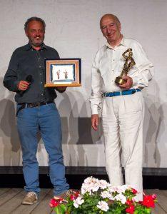 Steve Della Casa con Giuliano Montaldo