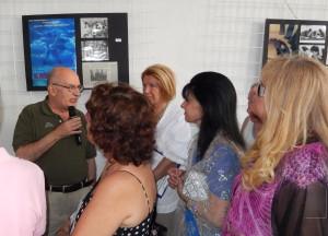 Paolo Micalizzi inaugura la Mostra su Antonioni