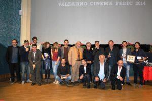 Foto di gruppo al Valdarno Cinema Fedic
