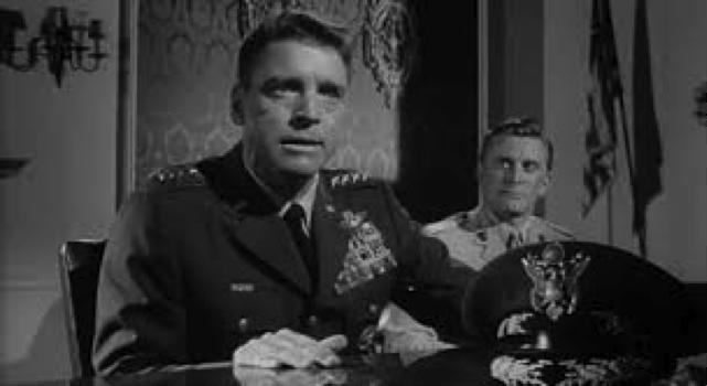 Burt Lancaster e Kirk Douglas in Sette giorni a maggio (1964) di John Frankenheimer