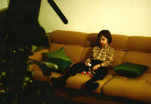 Paolo Sabbatini interprete principale del film Condizionato futuro