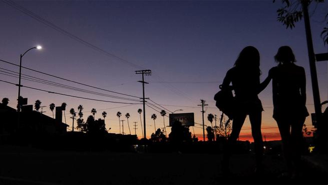 Un fotogramma del film Tangerine, 2015, realizzato con iPhone5S