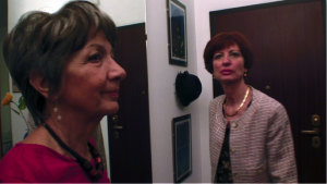94 Angela Pantalone e Ornella Pozzi in Blue lady di Gabriella Vecchi