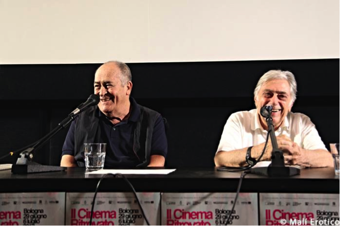 Bernardo Bertolucci e Gianvittorio Baldi