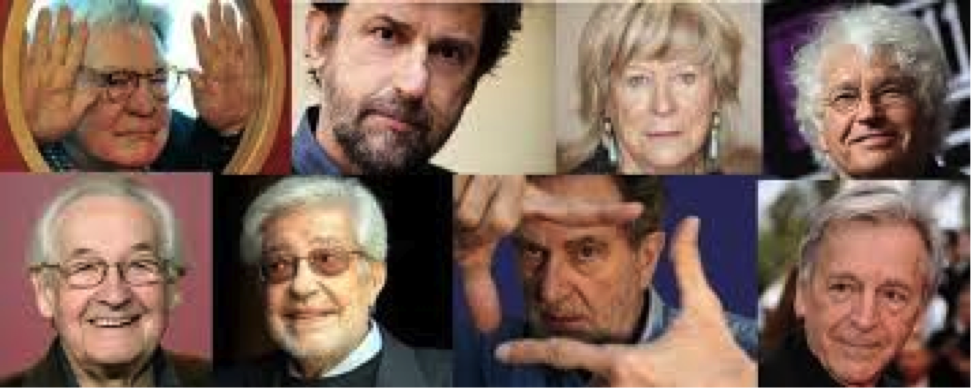 Protagonisti delle Otto lezioni di cinema