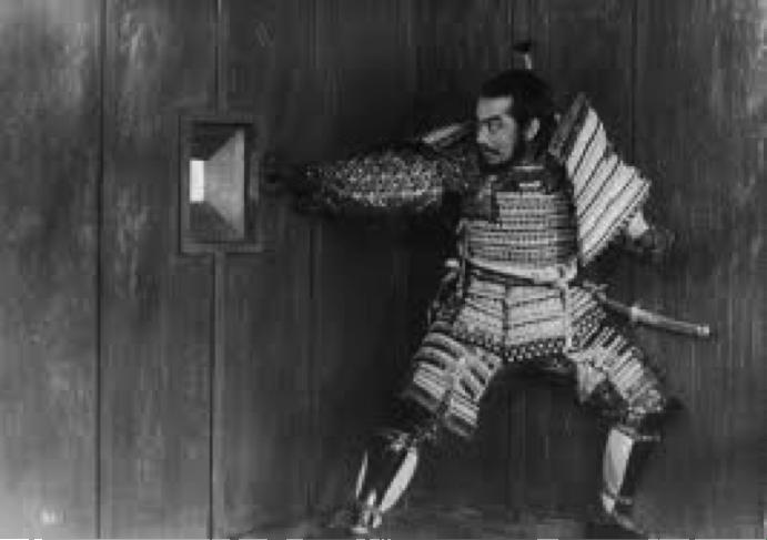 Toshiro Mifune in Il trono di sangue di Akira Kurosawa