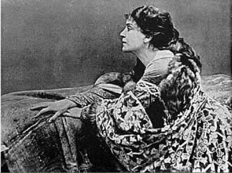Eleonora Duse in Francesca da Rimini (1901)