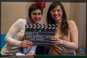 Giulia e Tania le nuove colonne del Cineclub