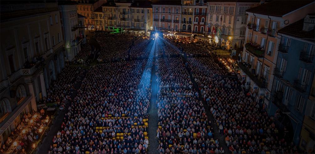 La Piazza grande di Locarno- una serata di proiezione