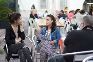intervista a Valentina Cervi durante il BFF2015